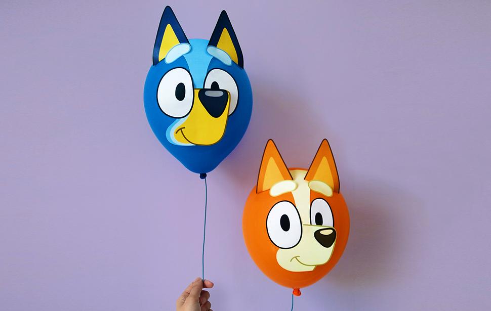 Bluey & Bingo Balloons